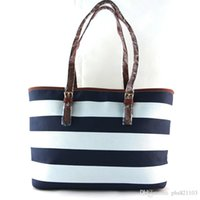 Wholesale Perfect Shop - Free shipping 2016 new women's handbags perfect quality star with stripes shoulder bag shopping bag large bag