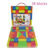 Wholesale Puzzle Block Game - Kids Puzzle Blocks Toy Bricks DIY Assembling Classic Games Early Educational Learning Toys