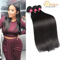 Wholesale high fidelity - Top Quality Brazilian Virgin Remy Hair Weave High Fidelity Discount Hair Extension 7A Grade Unprocessed Virgin Brazilian Straight Human Hair