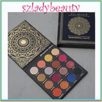 Wholesale Shinny Top - NEWEST TOP quality Ace Beauty Quintessential Eyeshadow Palette 16 Color matte and shinny beauty eyeshadow 660235