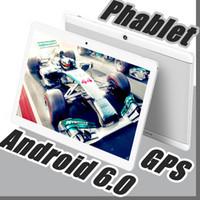 tablette telefone g touch großhandel-2018 Hohe Qualität 10 Zoll MTK6572 MTK6582 IPS kapazitiver Touchscreen Dual-SIM 3G Tablet-Handy PC 10
