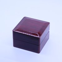 Wholesale Wooden Ring Jewelry Box - Championship Ring Jewelry Boxes Wooden Box Gift Boxes Ring Box