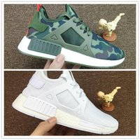 Wholesale Nude Color Shoes Flats - 2017 New NMD XR 1 Boost Men Women Running Shoes Multi Color XR1 Mastermind Japan Ultra Boost Uncaged Jogging Sneakers Size 36-45