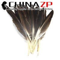 Wholesale pointer led for sale - Leading Supplier CHINAZP20 cm inch Special Natural Grey Duck Pointer Wing Feather for DIY Design