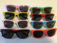Wholesale Nails Boy - 100pcs 2017 modern beach meters nail frame sunglasses children boys and girls sunglasses fashion children UV400 color glasses