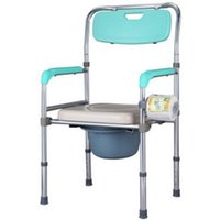 Wholesale Aluminum Wheelchairs - Toilet Chair Bathing Chair Pregnant Woman Shower Chair For Elderly Stroke Hemiplegia Handicapped Disabled People Aluminum Alloy