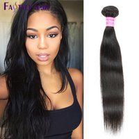 Vente en gros Fastyle Brazilian Straight Hair Extensions 6pc / lot UNPROCESSED Mink Péruvien Malaysian Indian Virgin Human Hair Bundles Low Price