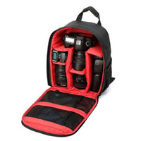 Wholesale Waterproof DSLR Camera Lens Backpack Case Bag photography digital camera video backpack For Nikon Canon Sony