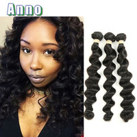 Wholesale Loving Machine - 6a Brazilian Loose Wave Virgin Hair 3pcs Lot Queen Love Hair Products Star Style Hair Unprocessed Brazilian Virgin Human