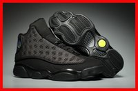 Wholesale Lowest Price Winter Boots - air retro 13 black cat basketball men shoes retro 13s XIII cheap sport designer shoe luxury running trainers sneakers sale online low price