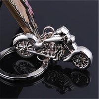 Wholesale Metal Keyfobs - llaveros!Creative casual metal Vintage Motorcycle keychains keyring fashion novelty items car keyfobs key holder Jewelry Gifts