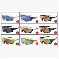Wholesale Eyeglasses Luxury For Men - High quality Jawbreaker men Sunglasses luxury brand designer drivers driving sports Sun glasses eyewear For man Fashion eyeglasses