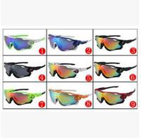 Wholesale Wholesale Amber Resin - High quality Jawbreaker men Sunglasses luxury brand designer drivers driving sports Sun glasses eyewear For man Fashion eyeglasses