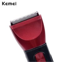 Wholesale Electric Razor Mens - hair clipper set Kemei 5 in 1 Washable Electric Shaver Razor Trimmer Multifunctional Hair Clipper Set Mens Shaving Machine Ear & Nose