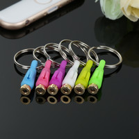Wholesale Mobile Jack Dust - Wholesale-Smart IR Remote Control 3.5mm Jack Mobile Phone Dust Plug IR Transmitter Universal for iphone ipad Touch IR Controller