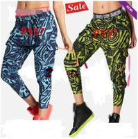 Wholesale Dance Cargo - XS S M L XL women dance Pants Beach Baller Harem Cargo Pants blue green