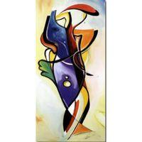 tela de pintura a óleo espacial venda por atacado-Perdido na qualidade do espaço Alfred Gockel pinturas óleo sobre tela modernos resumo arte pintados à mão