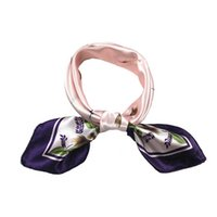 Wholesale Men Luck Ring - Wholesale-Luck dog Scarf Women Fashion Four Seasons Shawl Changeable Silk Satin Scarves