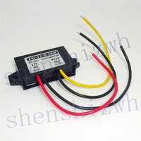 Wholesale 12v 9v Converter - 12V to 3.3V 3.7V 4.2V 5V 6V 7.5 9V 2A Car power converter DC-DC step-down power adaper with Small plastic shell support Connect USB