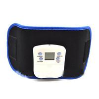 Wholesale Electronic Slimming Belts - AB GYMNIC Electronic Health Body Building back pain relief Massage Belt Vibrating slim beauty belt massager