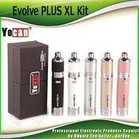 Wholesale vaporizer jar for sale - Group buy Authentic Yocan Evolve Plus XL Starter Kits Wax mah Pen Vaporizer Kit with Silicon Jar Quad Quartz Rod Coil Genuine