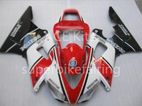 3Gifts New Hot vente vélo Carénages Kits Pour YAMAHA YZF-R1 1998 1999 r1 98 99 YZF1000 Cool Noir Blanc Rouge SX6