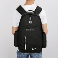 Wholesale Skull Computer Bag - landy house 2017 The basketball team Knight Kaili Erwin 2 Kyrie Irving james computer backpack shcool bags sports backpack team Souvenirs