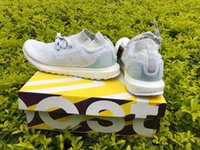 Wholesale 36 X 48 Art - 2017 Parley X Ultra Boost Top Real Boost Factory Shoes Size 36-48 Ocean Bb4073 White Uncaged Limited Version Running Shoes With Original Box