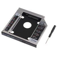 Wholesale Hdd For Asus - Wholesale- 2nd SATA Hard Drive HDD HD SSD Caddy Adapter Bay for ASUS N56 N56V N56JR N56VJ N56VM N56VZ N56D