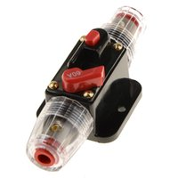 Wholesale audio fuses for sale - Group buy ZOOKOTO A Fuse Holders Inline Circuit Breaker Reset Fuse Inverter for Car Audio System Protection V V DC
