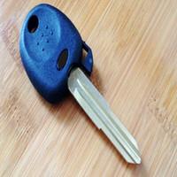 hyundai transponder schlüssel leer großhandel-Transponder Key Shell HYN7 Rechte Klinge Ersatz Schlüsselrohlinge für Hyundai Santa Fe Sonata