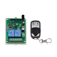Wholesale Metal Frame Systems - DC 12V 24V 2 CH 2CH RF Wireless Remote Control Switch System,315 433.92 MHZ (1 Metal Frame Transmitter +1 Receiver)