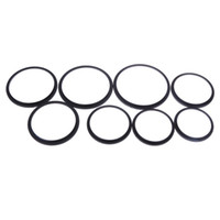 Wholesale 55 camera - Set mm Metal Step Up Rings Camera Lens Adapter Filter Set Kind Lens to Accessory