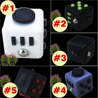 Wholesale Fidget cube New Popular Decompression Toy Fidget cube the world s first American decompression anxiety Toys