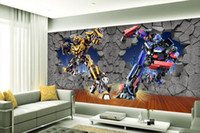 Wholesale Back Roll Painting - mural 3d wallpaper 3d wall papers for tv backdrop Creative 3D Stereo Dream Wall Decorative Painting