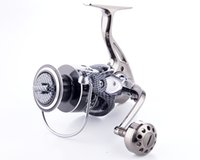 Wholesale Metal Gear Series - 12+1BB Spinning Fishing Reel Saltwater DE2000-7000 Series Full Metal Body Smooth China Fishing Wheel Gear Ratio 5.2:1