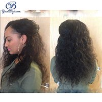 Wholesale Best Price Full Lace Wigs - Top Grade 7A Full Lace Wigs 100% Natural Water Wave Low Price Human Hair Wig Best Quality Wet And Wavy Black Woman Hair