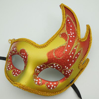 Wholesale peacock halloween costumes women resale online - Luxury Masquerade Party Peacock Mask Halloween Costume Half Face Hip Hop Dance Mask Venetian decoration Sexy Woman mask