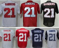 Wholesale Deion Sanders Florida State - Throwback Atlanta #21 Deion Sanders Jersey White Red Florida State Seminoles College Jerseys Retro Home Black White Red Color All Stitched