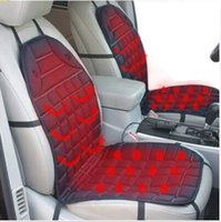 Wholesale Warming Seat Cushion - Winter 12V Heated Car Seat Cushion Cover Seat Heater Warmer for Mazda 3 Axela 6 CX-5 ATENZA Mitsubishi Lancer Mirage Outlander Pajero ASX