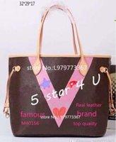 Wholesale Top Selling Women Handbags - Famous designer Cowhide AAAAA top quality Hot Sell NVVER FULLS women handbag bag Shoulder Bags lady Totes handbags bags #40156 #40157 #5110