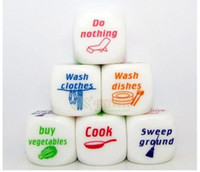 Wholesale Funny Bar Games - New Funny Party Drink Decider Dice Games Pub Bar Fun Die Toy Gift