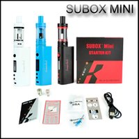 High quality Kanger Subox mini kit de iniciação Sub tank mini 4.5ml atomizador Variável Wattage KBOX Kangertech Box Mod E vapor de cigarro