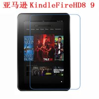 Vente en gros - Clear Screen Protector Film Film de protection anti-empreintes digitale pour Amazon Kindle Fire HD Tablette de 8,9 pouces