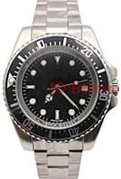 relógios de aço stanless venda por atacado-Mens Designer 44mm Stanless Pulseira de Aço mecânico 116660 SEA-DWELLER Automático movimento Business Casual SEA mens Watch