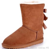 Wholesale Self Defense For Women - 2016 Christmas Promotion Womens boots BAILEY BOW Boots 2014 NEW Snow Boots for Women