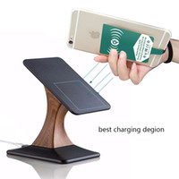 Wholesale Lg Nexus Dock - Qi stand Wireless Charger charging Phone Holder For iPhone 5S SE 7 6s LG Nexus 6 5 4 Samsung Galaxy Note5 7 S6 S7 edge