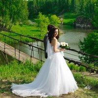 Wholesale Elegant Beads - Custom Made casamento vestido 2017 Strapless Tulle Sequins Crystal Beads A line Elegant Wedding Dresses Robe De Mariee QA78