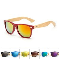 Wholesale cheap bamboo sunglasses - Cheap Newest Style Men Women Bamboo Foot Fashion Designers Sunglasses UV400 Resin lenses Summer Travel Bicycle Sun Glasses Free Shipping