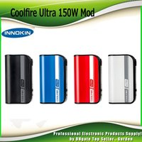 Wholesale Charge Mod Battery - Original Coolfire Ultra TC150 Box Mod TC 150W Battery 4000mAh Lipo Fast Charging Aethon Chip Cool Fire 150 100% Authentic 2201077
